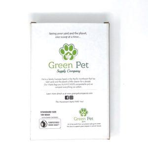 Green Pet Poop Bag