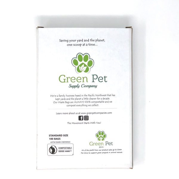 Green Pet Poop Bag